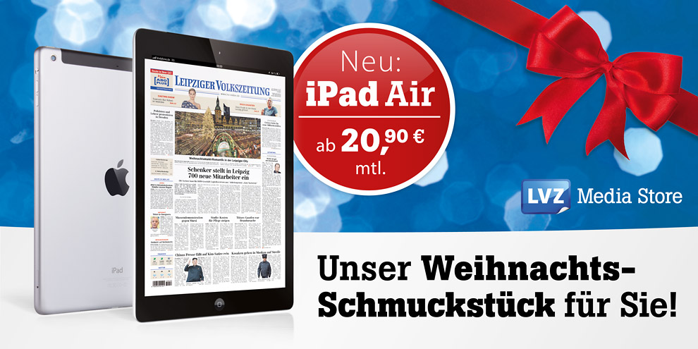 iPad Air im LVZ Media Store sichern