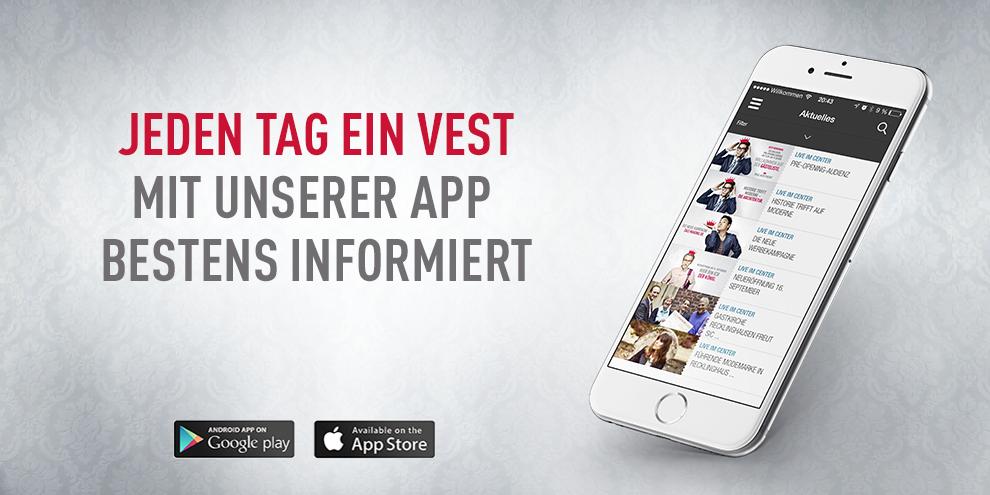 Unsere App ist da