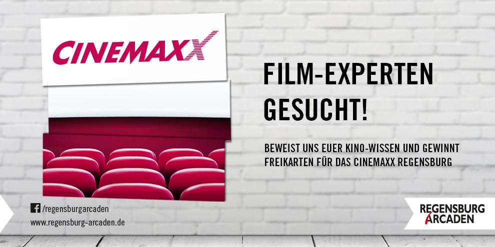 Ab jetzt neu: CinemaxX-Gewinnspiel