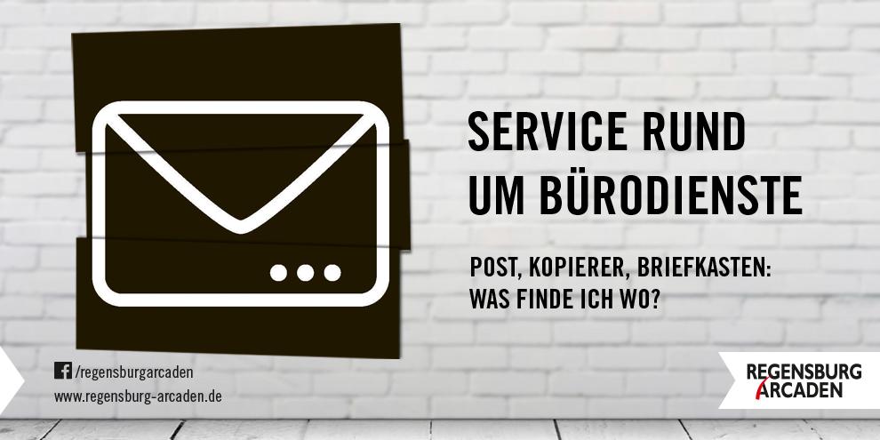 Service rund um Bürodienste