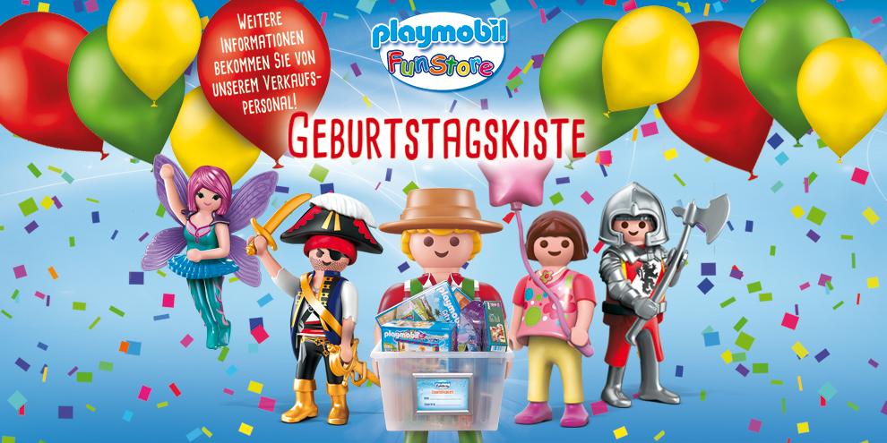 Die Playmobil Geburtstagskiste in Deinem FunStore