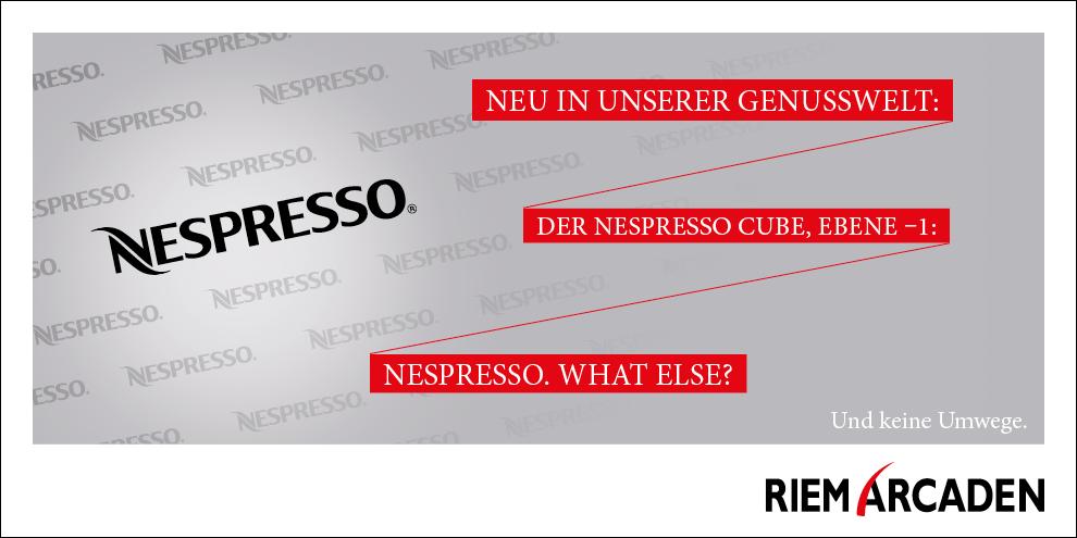 Nespresso: Neu in den Riem Arcaden