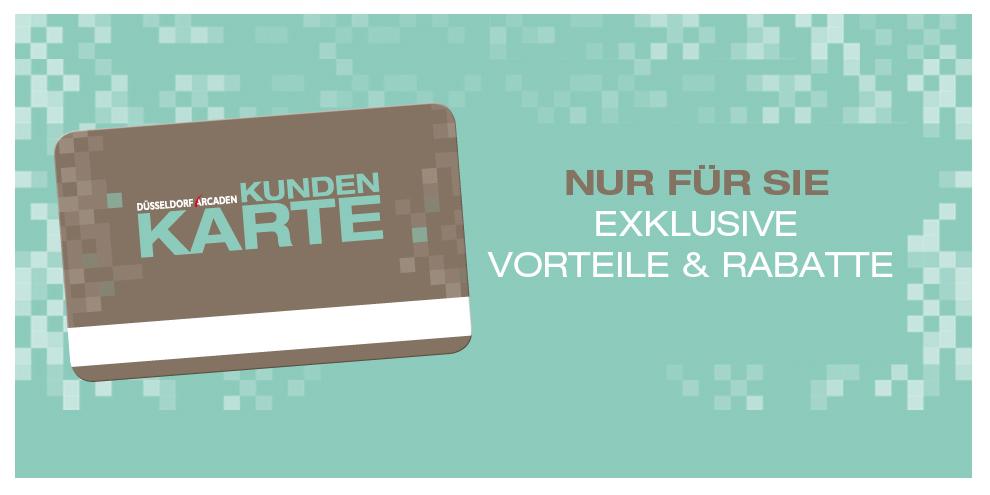 Neu: Die Düsseldorf Arcaden Kundenkarte