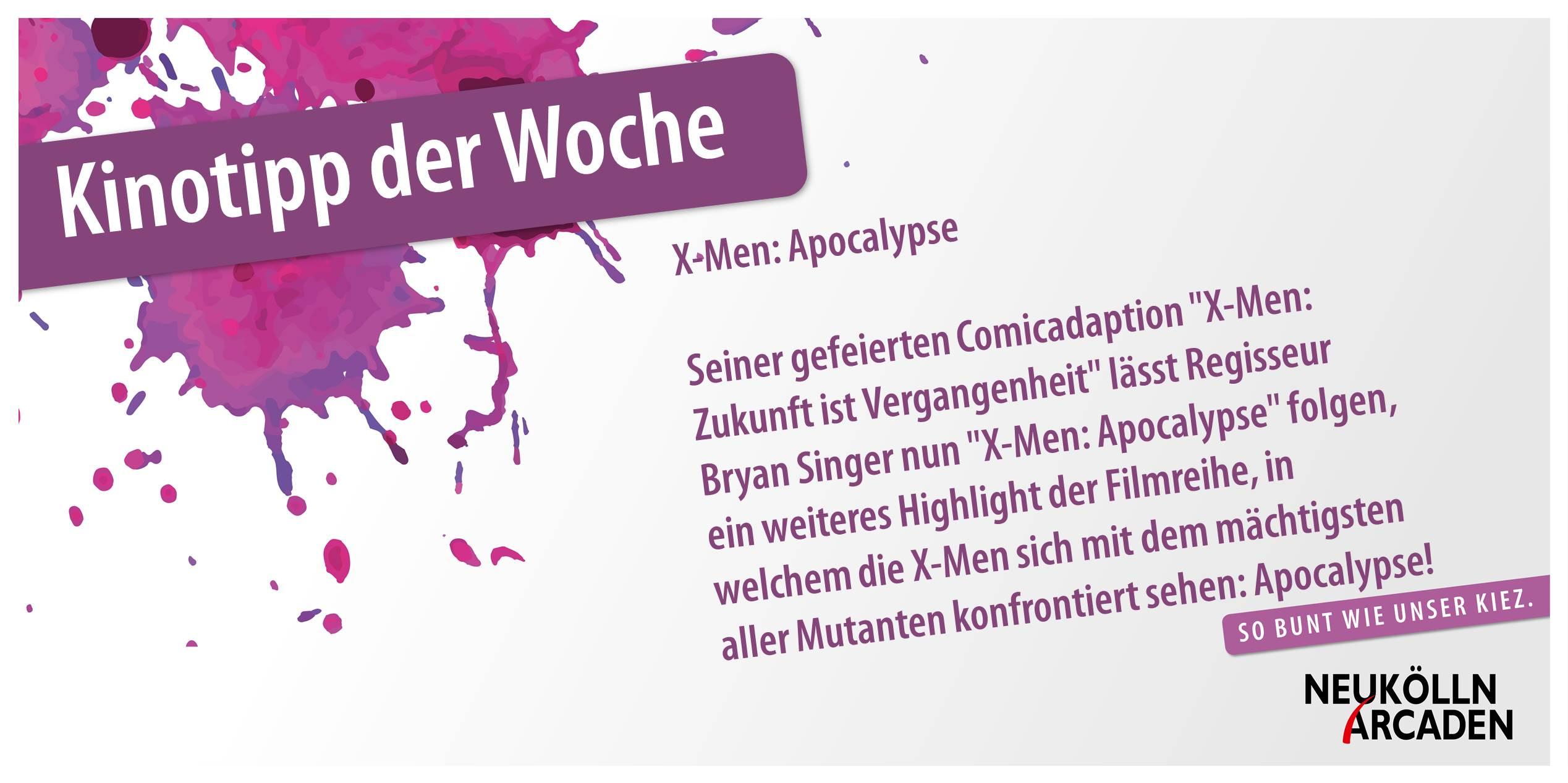 Der Cineplex-Kinotipp der Woche