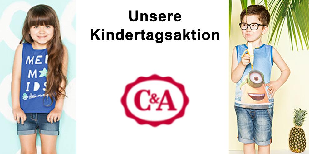 Große Kindertagsaktion bei C&A