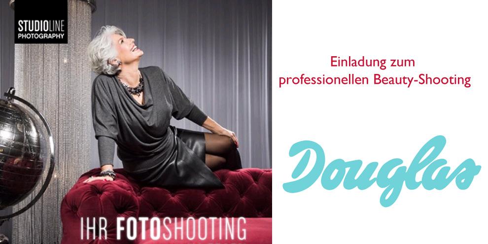 Einladung zum professionellen Beauty-Shooting