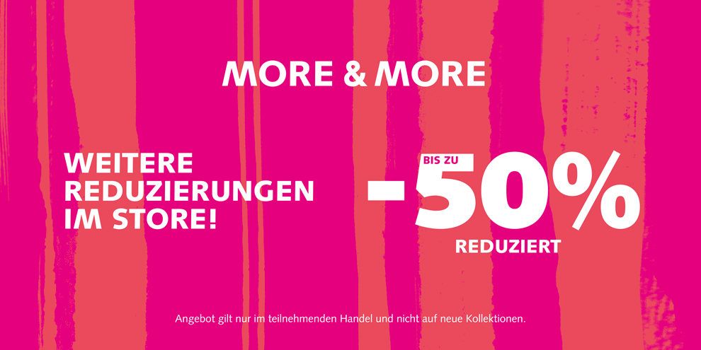 Sale bei MORE & MORE