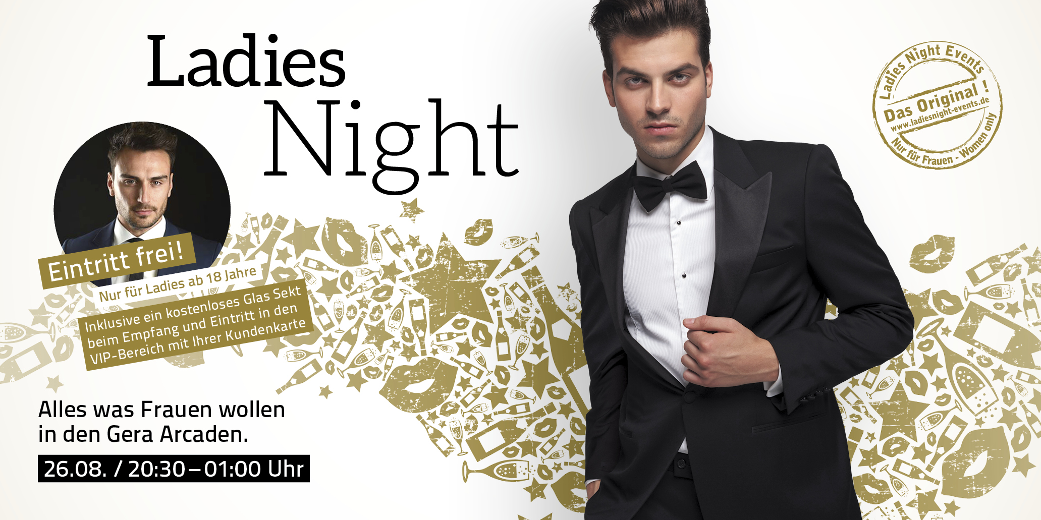 Die Gera Arcaden Ladies Night am 26. August 2016