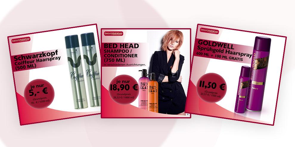 Tolle Angebote und Specials bei beautyhairshop