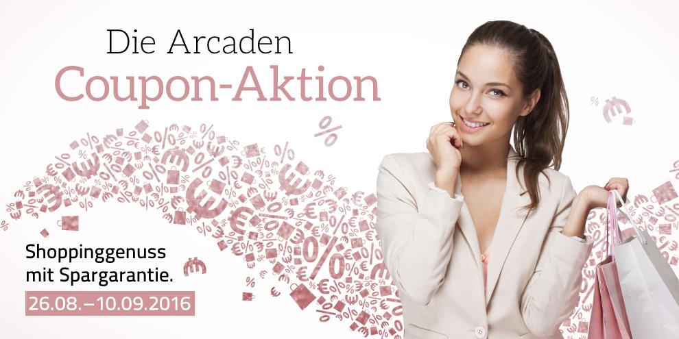 Die Arcaden Coupon-Aktion