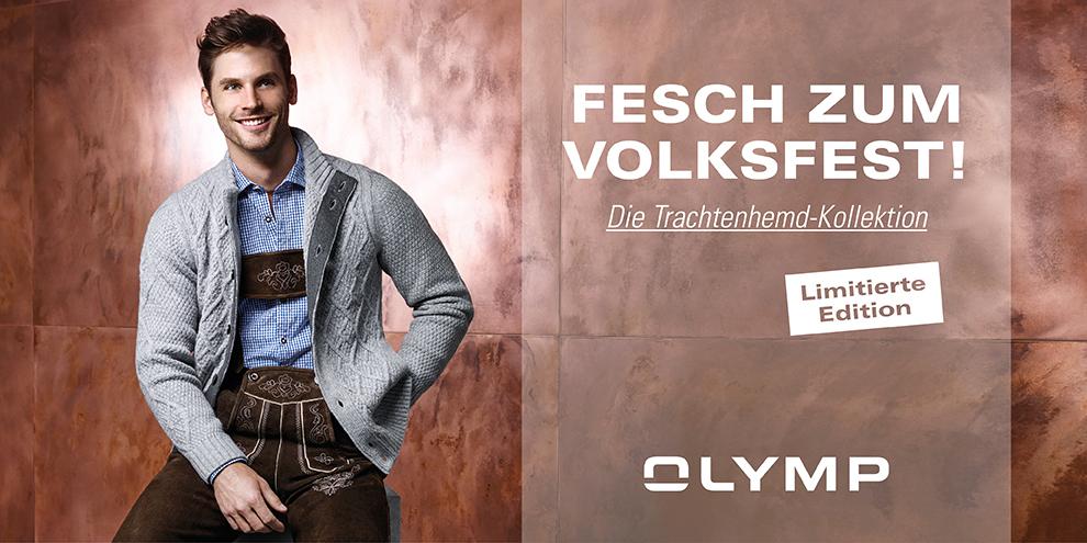 OLYMP Trachtenhemd-Kollektion