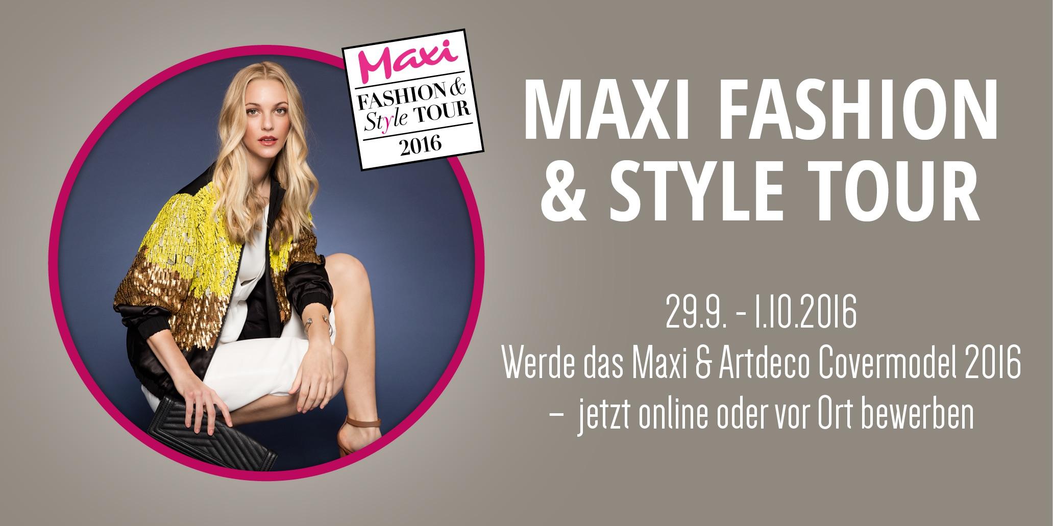Maxi-Covergirl 2016 gesucht!