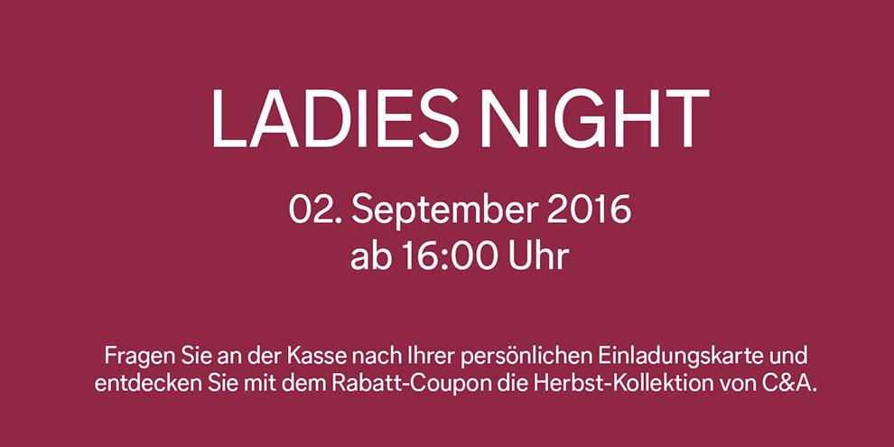 Ladies Night bei C&A