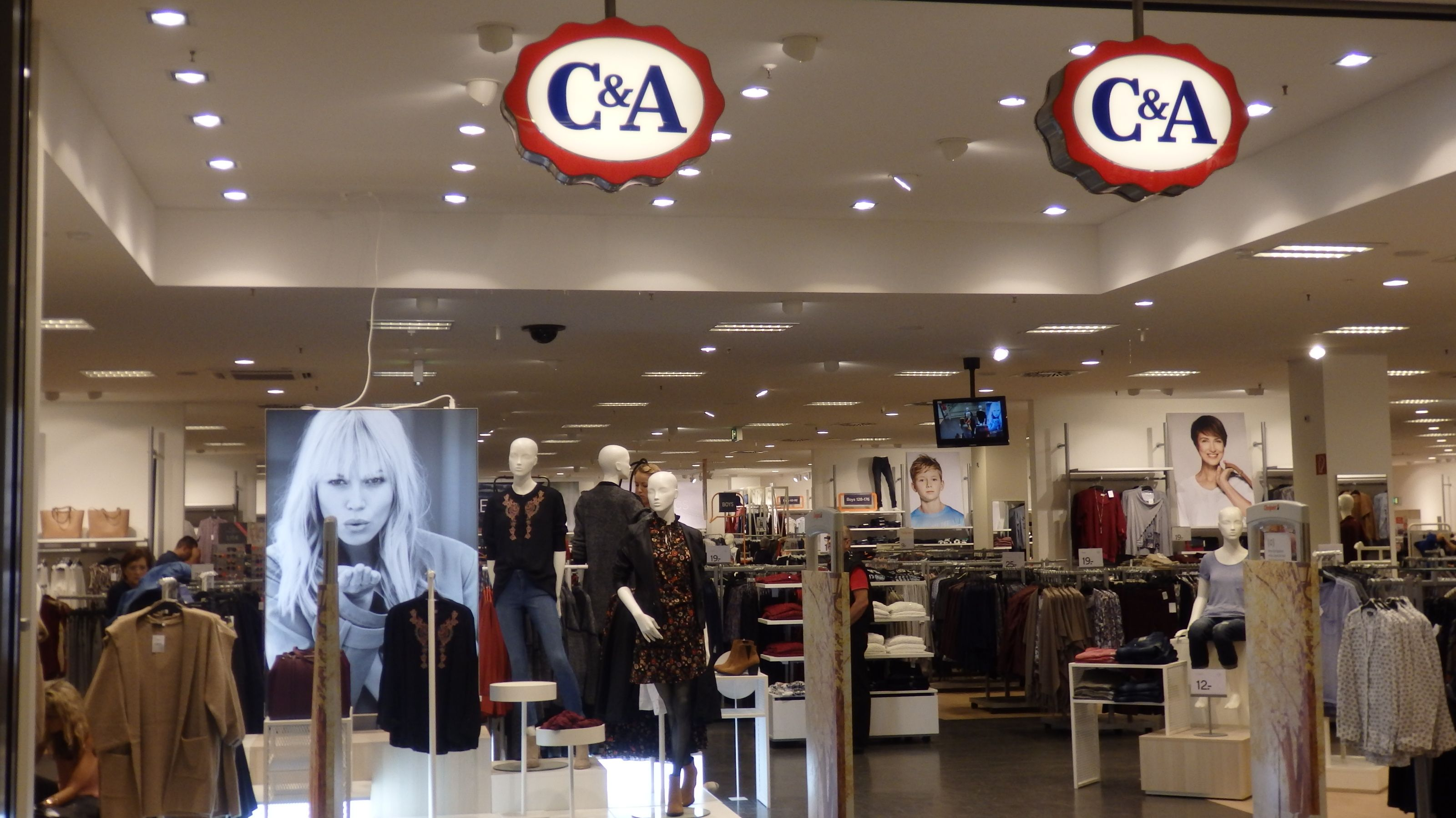 C&A im HavelPark Dallgow präsentiert neues Einkaufserlebnis