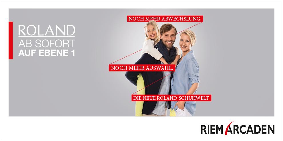 ROLAND Schuhe mit neuem Store-Konzept.