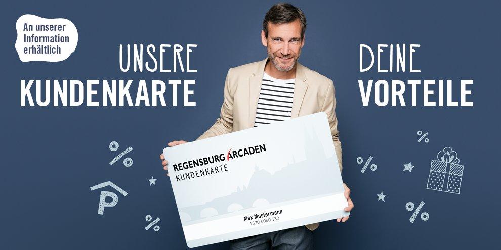 Unsere Regensburg Arcaden Kundenkarte