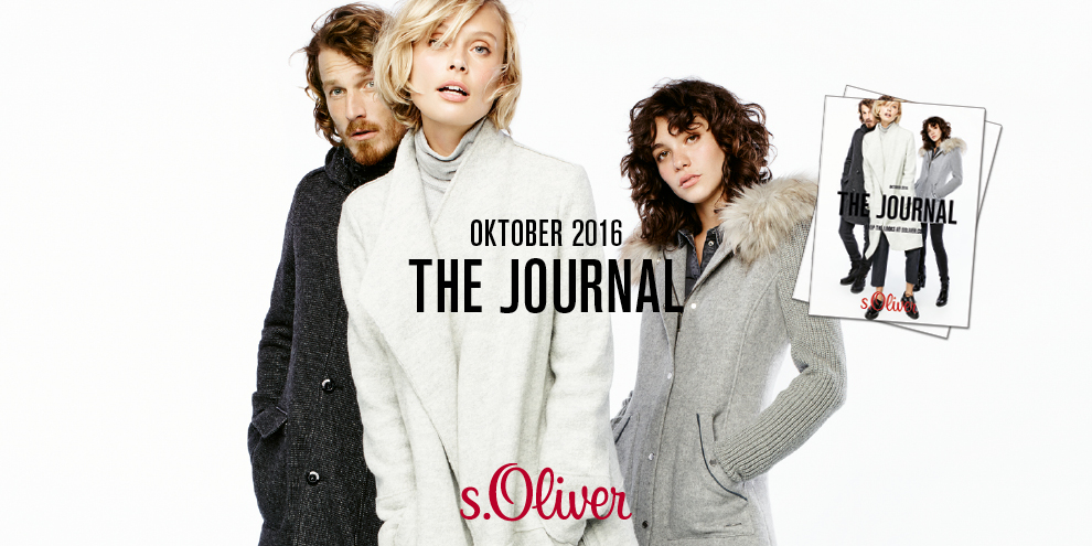 THE JOURNAL – New Season Must-Haves by s.Oliver