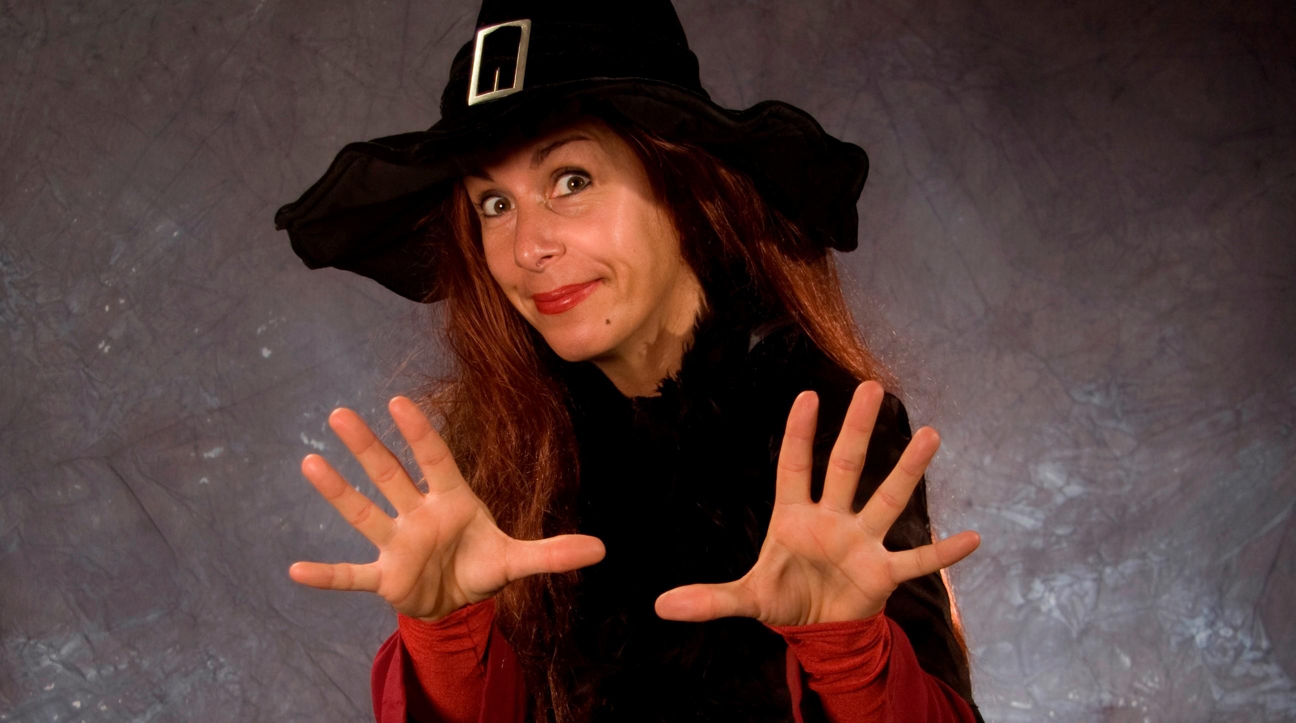 Halloween mit der Zauberin Nadja