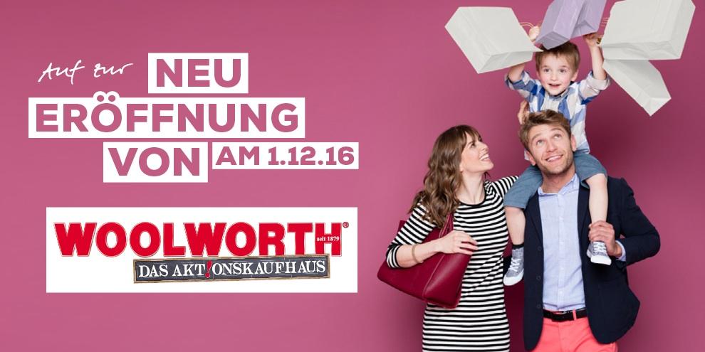 Wir freuen uns auf Woolworth