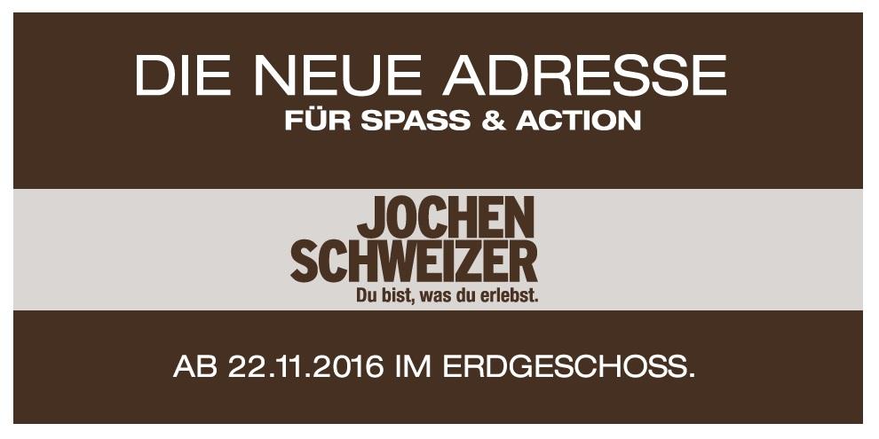 Jochen Schweizer in den Düsseldorf Arcaden
