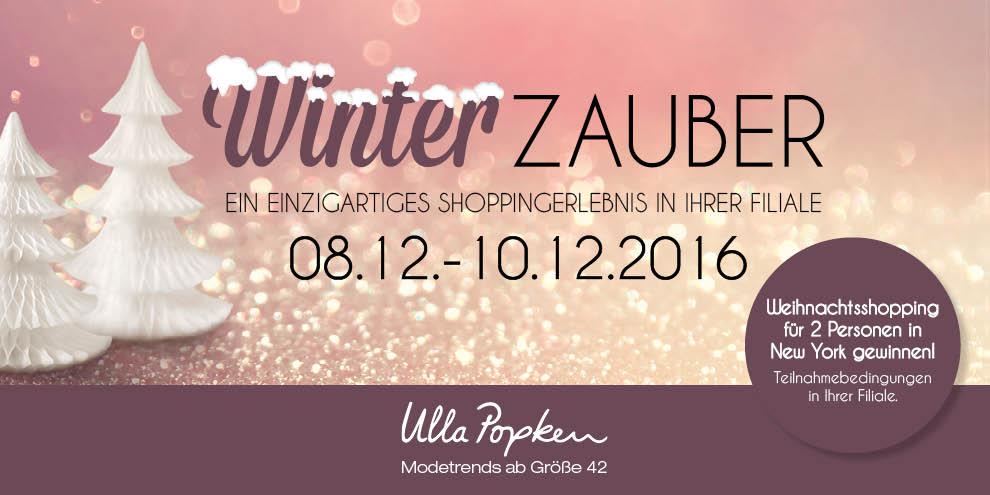 Winterzauber mit Gewinnspiel bei Ulla Popken
