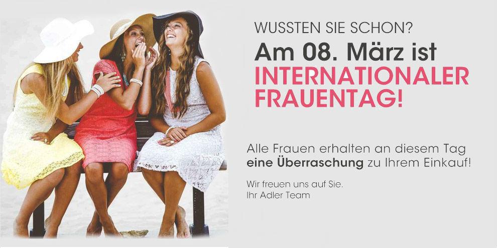 Internationaler Frauentag bei Adler