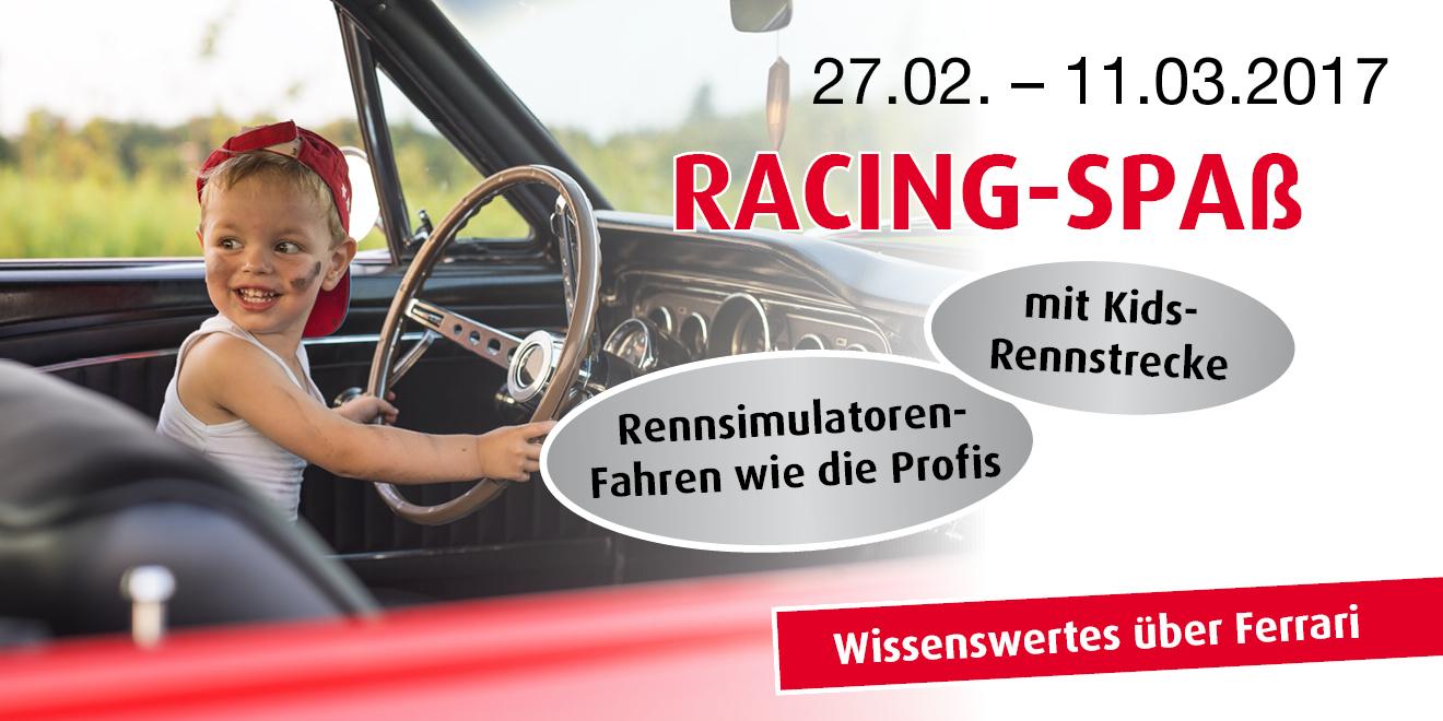 Kommen Sie zum Racing-Spaß