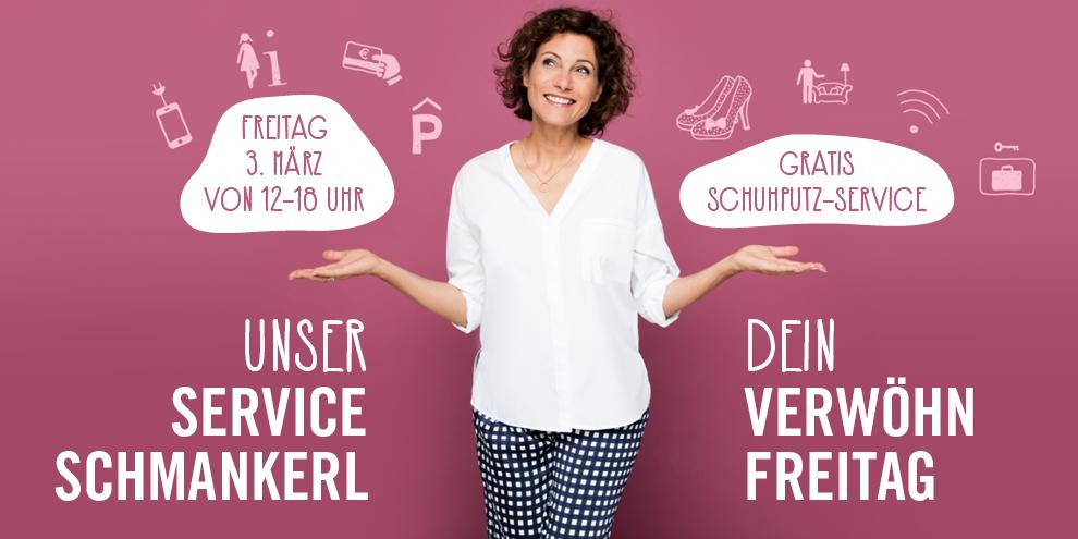 Gratis Schuhputz-Service