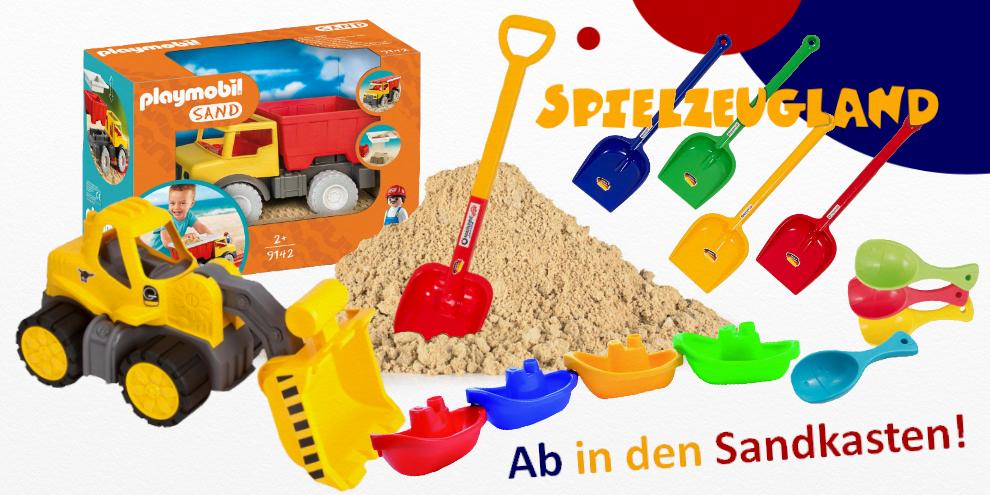 Ab in den Sandkasten