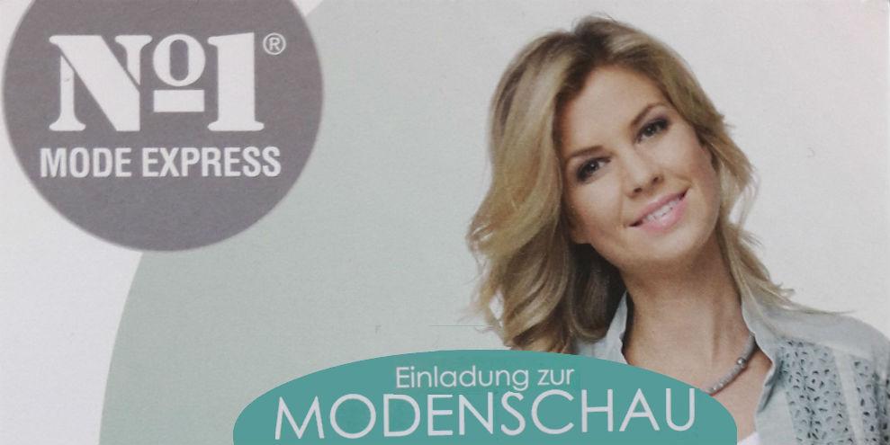 Modenschau bei Mode Express No.1