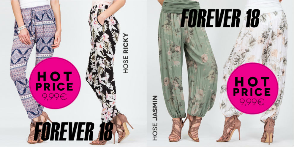 HOT Price bei Forever 18