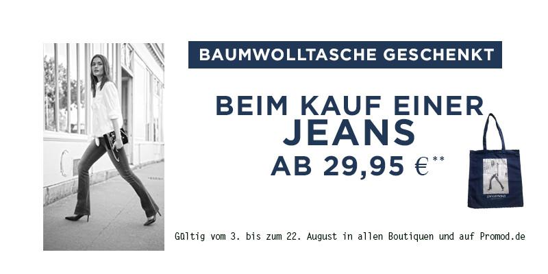 Jeans-Aktion bei Promod