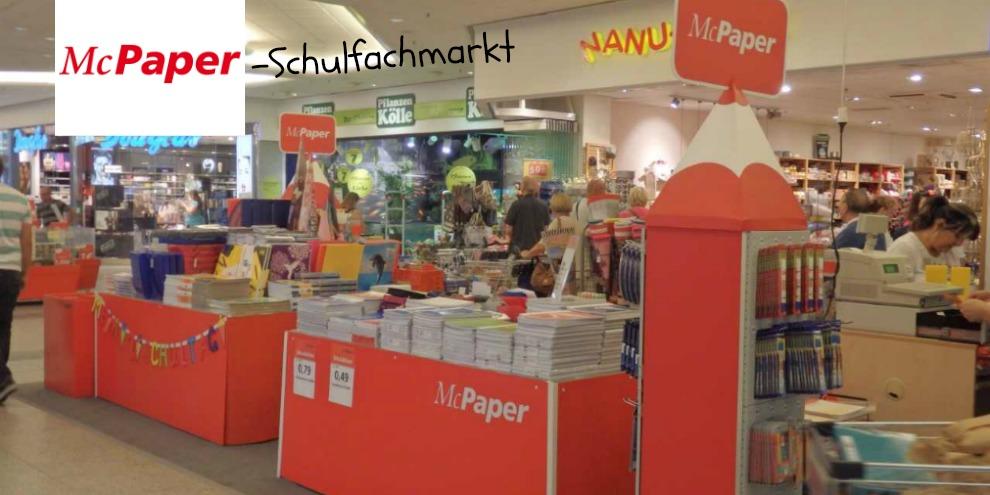 Schulfachmarkt im HavelPark Dallgow