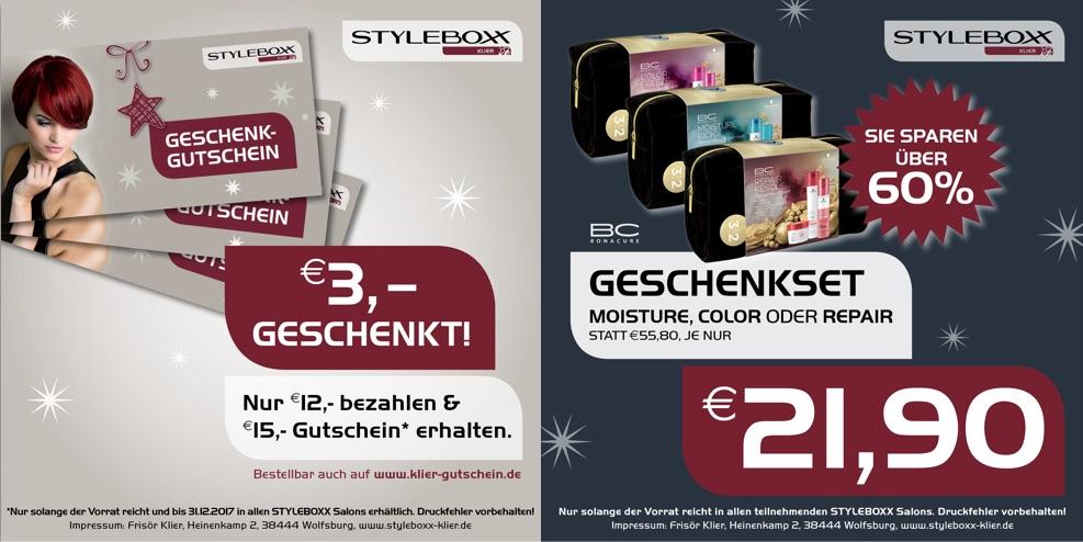 Entdecken Sie die neuen Angebote von Styleboxx Klier
