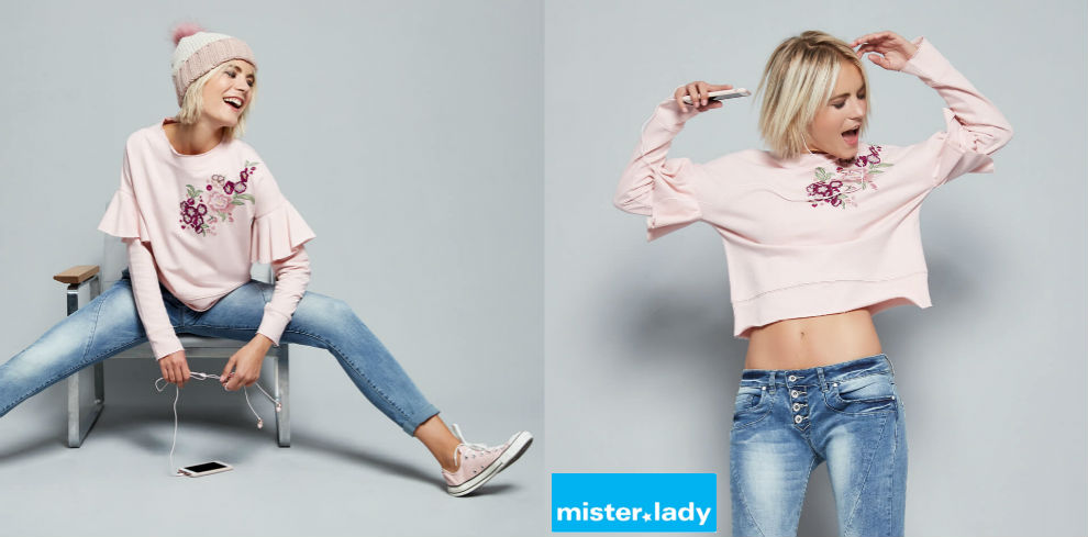Verspielte Outfits bei mister*lady
