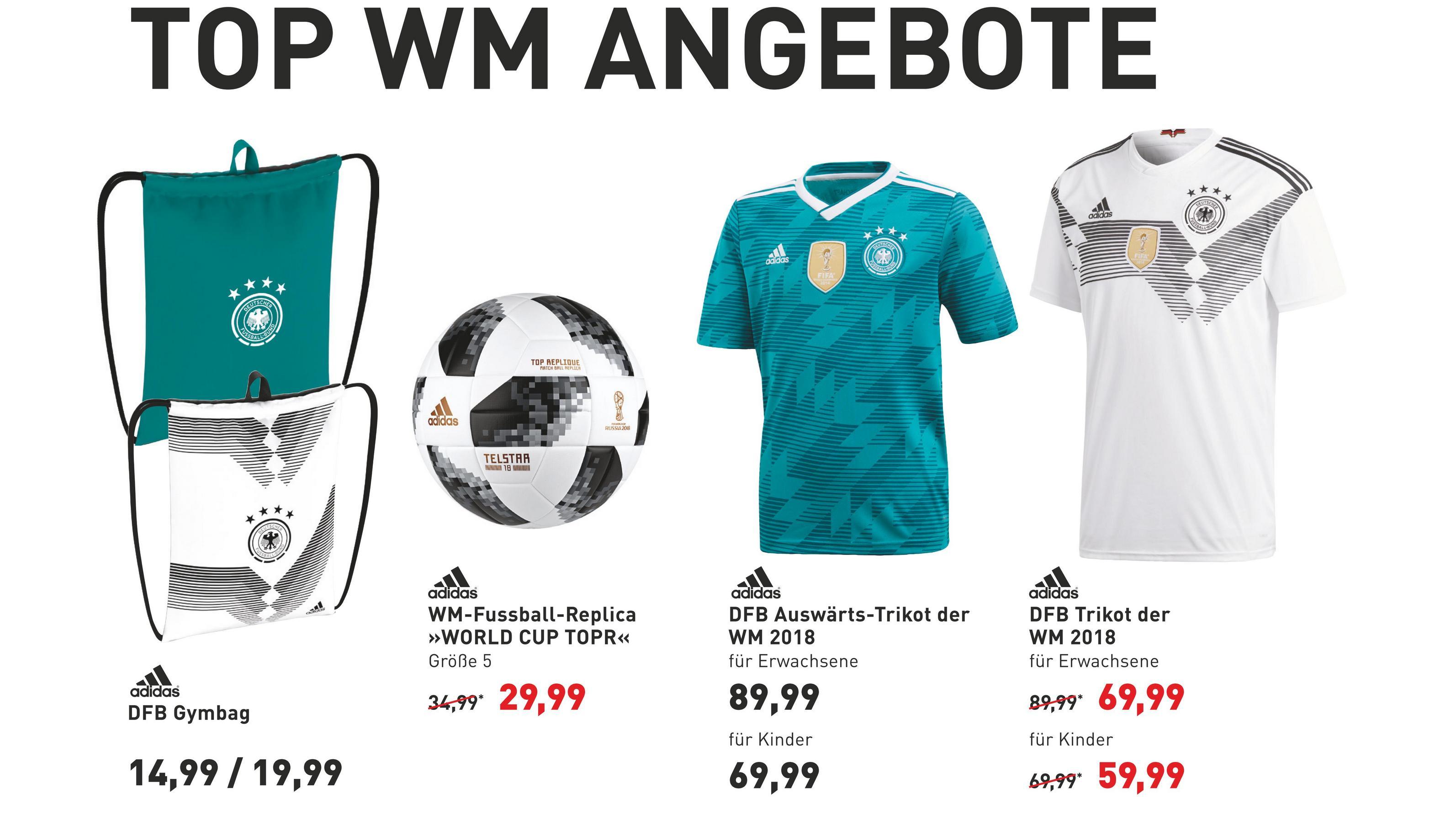 WM 2018 - Jetzt Trikot zum Sonderpreis sichern!