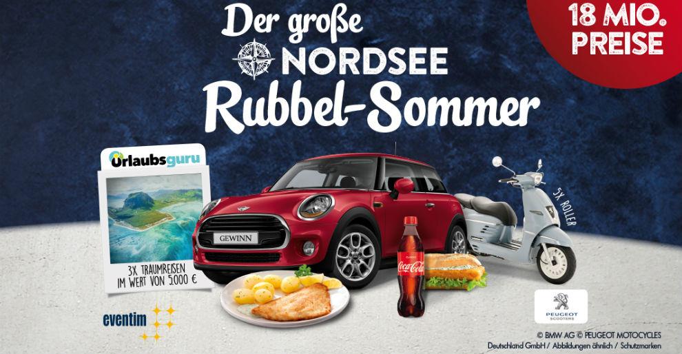Der große NORDSEE Rubbel-Sommer