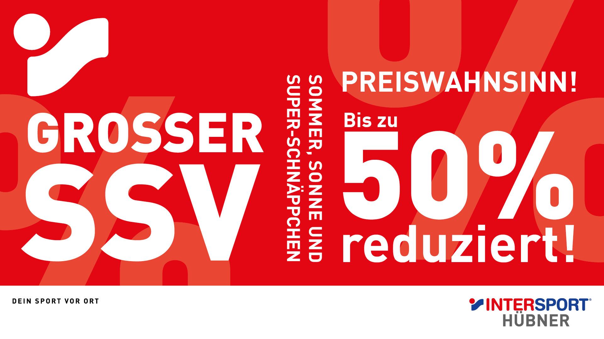 Großer SSV bei INTERSPORT Hübner