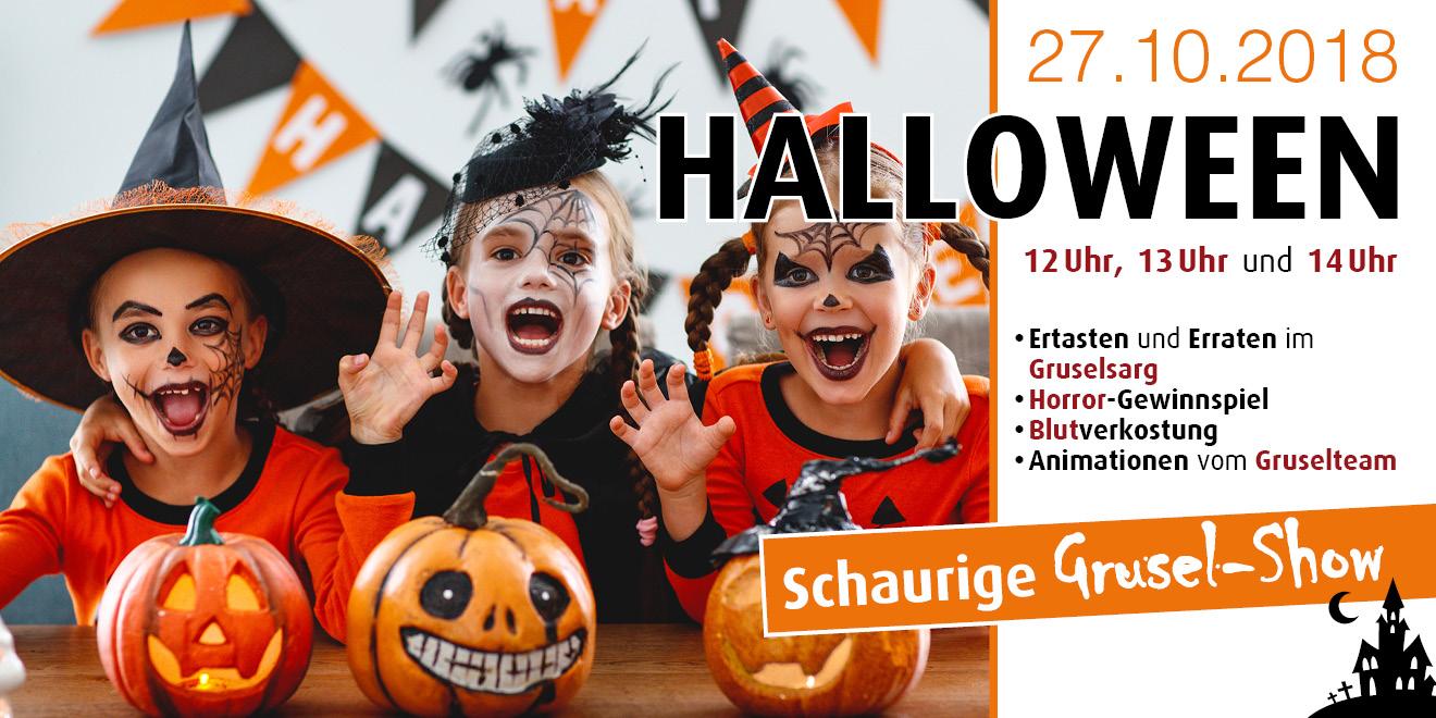 Halloween am 27. Oktober