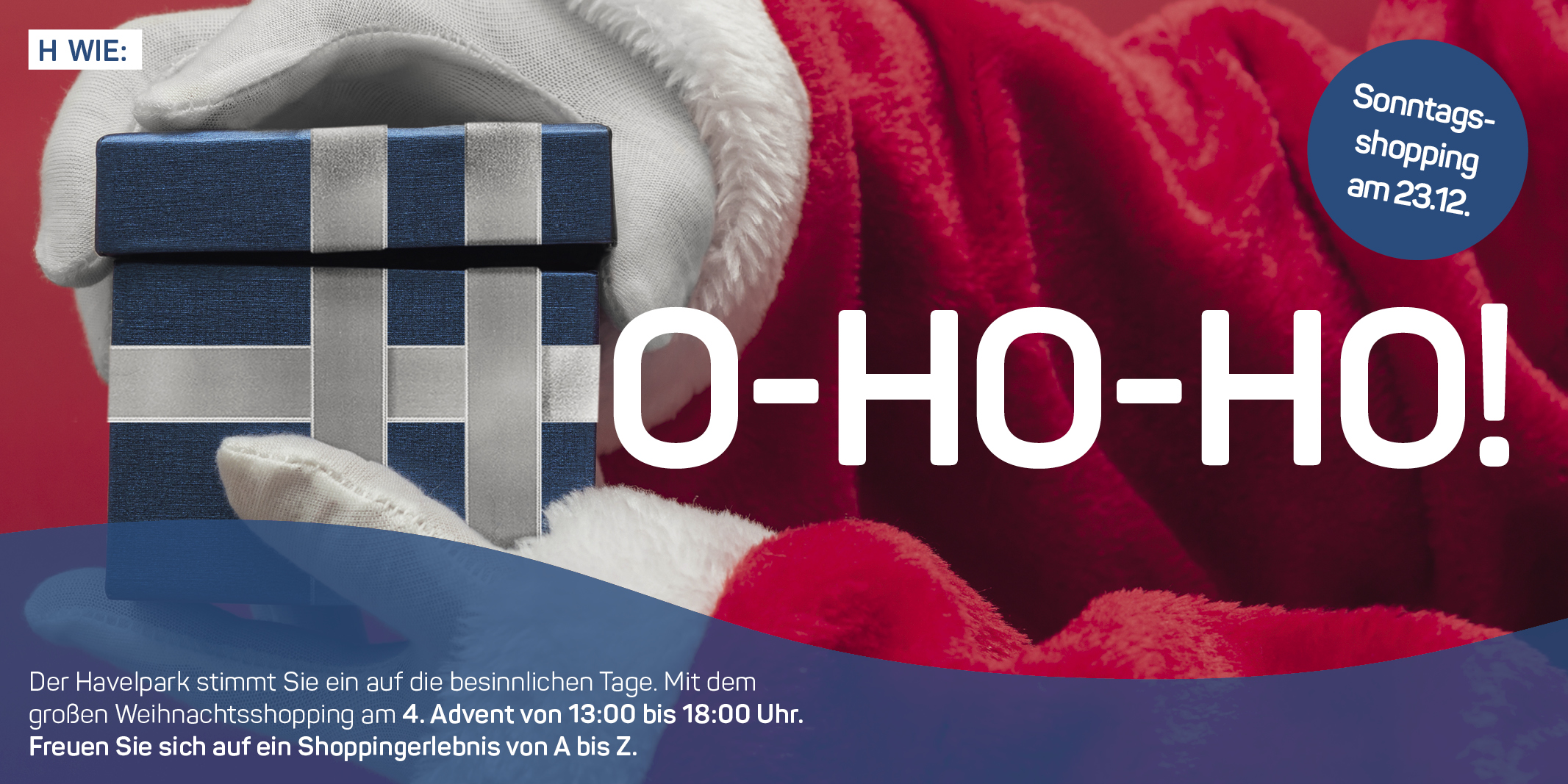 Adventsshopping am 1. und 4. Advent