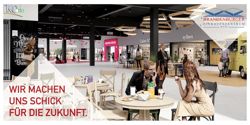 Revitalisierung Einkaufszentrum Wust