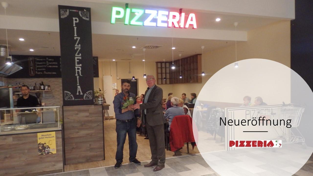 Neueröffnung der Pizzeria im Havelpark