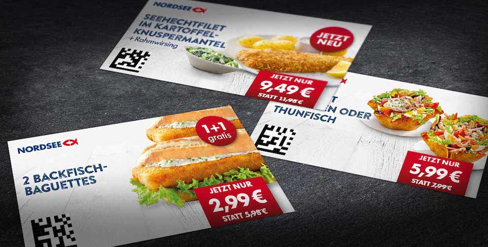 Neue NORDSEE Coupons!