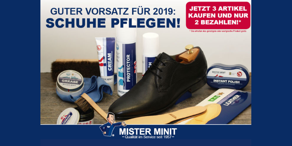 Neujahrsvorsatz: Schuhe pflegen