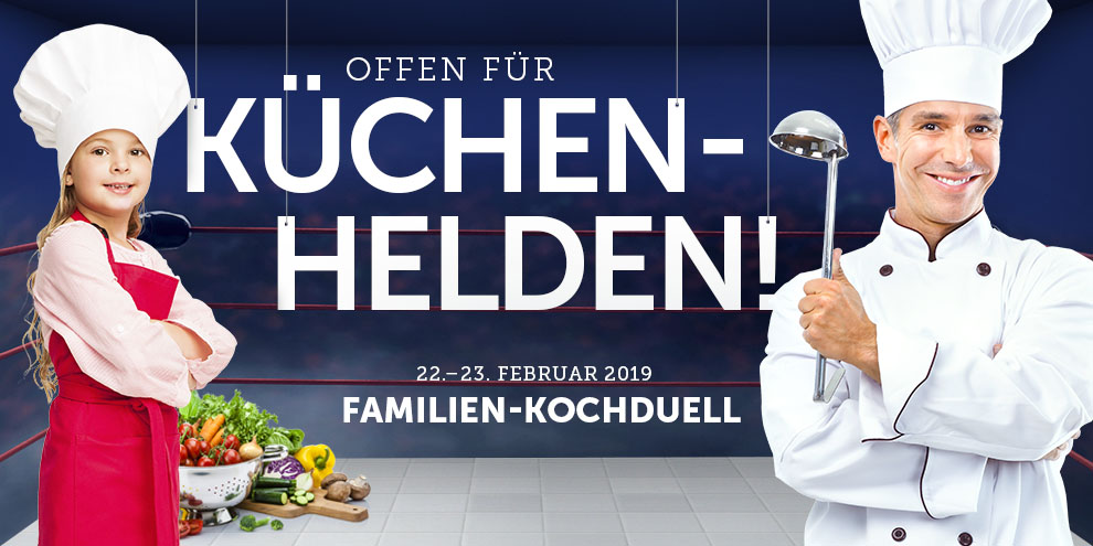 Kochduell im Kaufpark Dresden