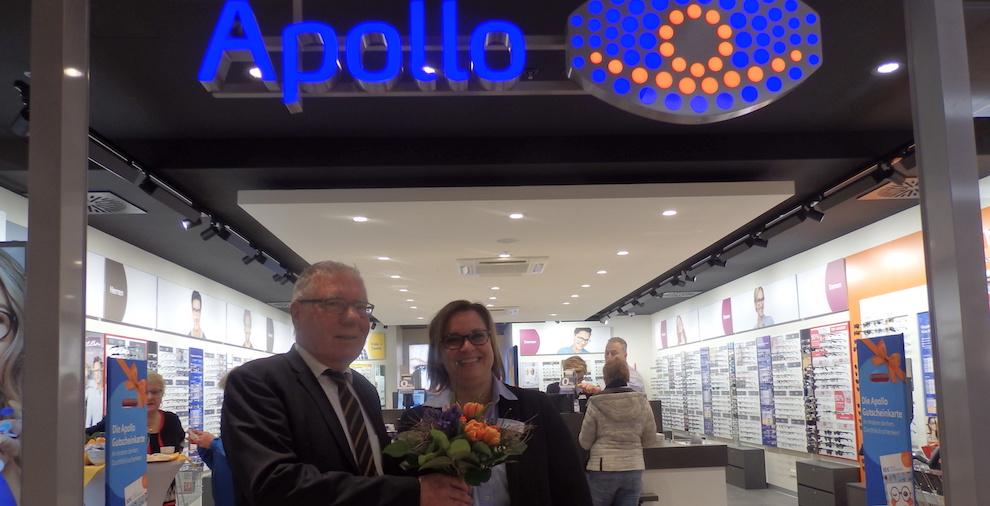 Neueröffnung nach Umbau – Apollo Optik im Havelpark Dallgow