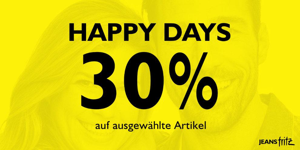 Happy Days bei Jeans Fritz