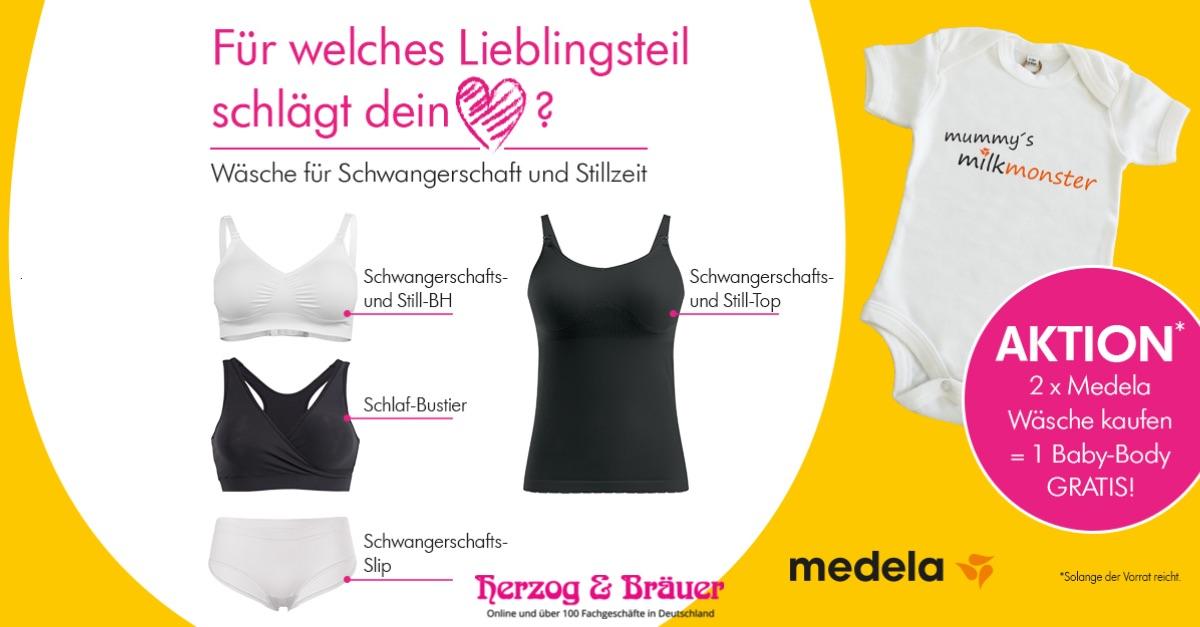 Medela Aktion bei Herzog & Bräuer