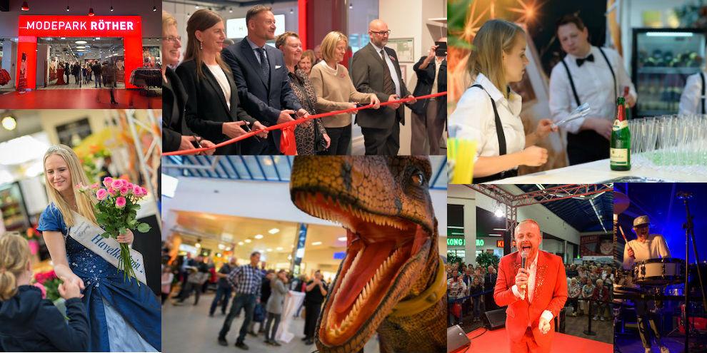 Das war die Eröffnung von Modepark Röther