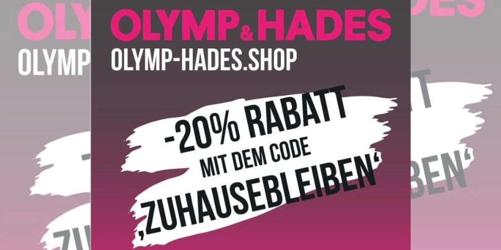 Rabatt im OLYMP & HADES Online-Store